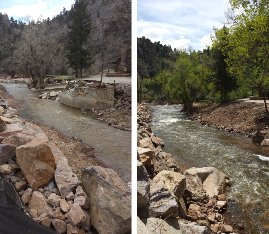 Before and After Hwy 36